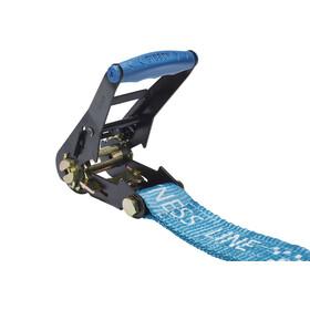 GIBBON Fitness Line - Slackline kit - 15 m azul